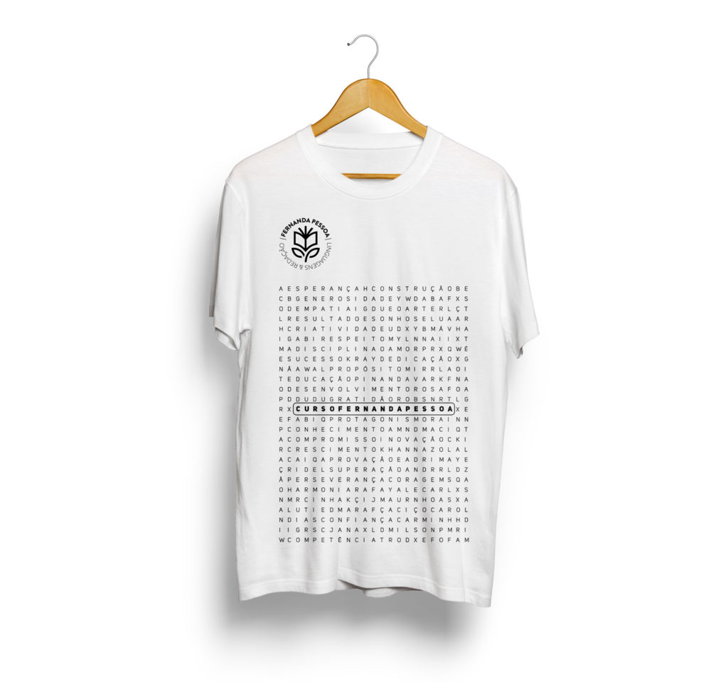 Camisa #NAÇÃOFP - Branca